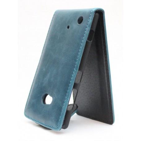 Lumia 720 sininen läppäkotelo.