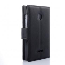 Lumia 435 musta puhelinlompakko