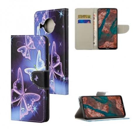 Nokia X10 / X20 5G perhoset suojakotelo