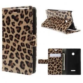 Lumia 532 leopardi puhelinlompakko