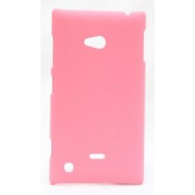 Nokia Lumia 720 vaaleanpunainen kova suojakuori.