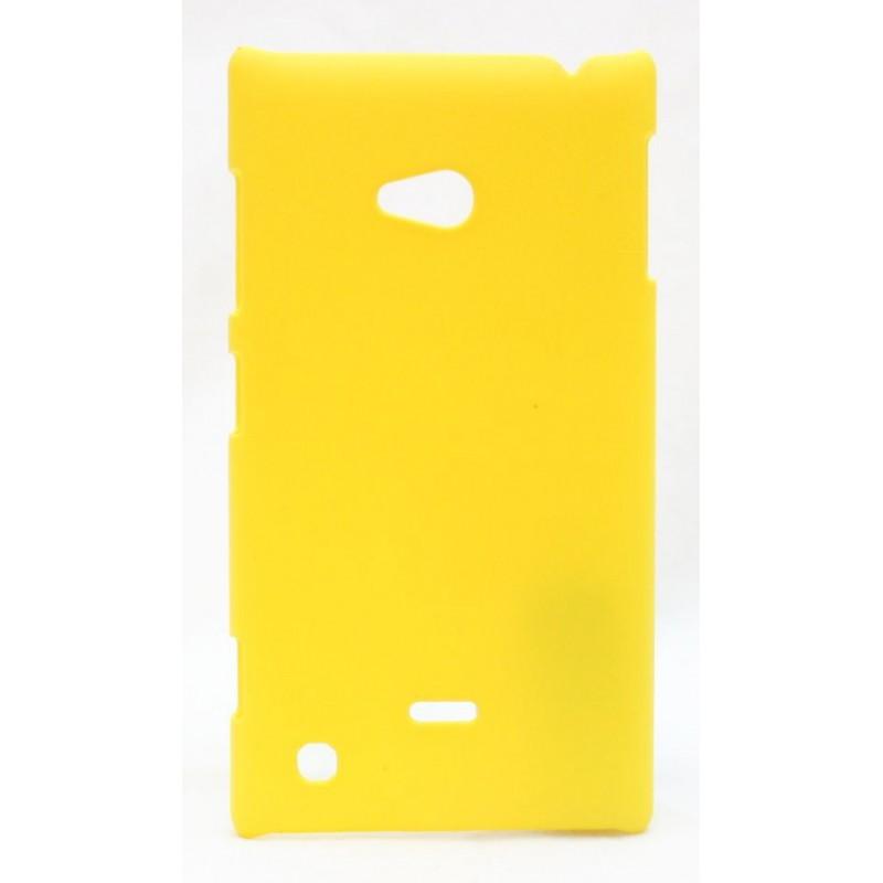 Nokia Lumia 720 keltainen kova suojakuori.