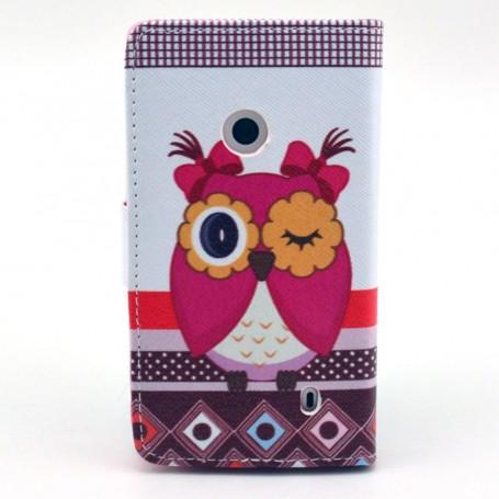 Lumia 520 pöllö lompakkokotelo.