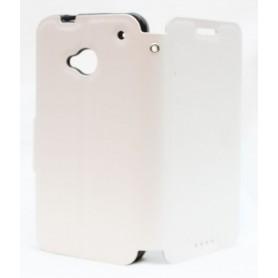HTC One valkoinen kansikotelo.