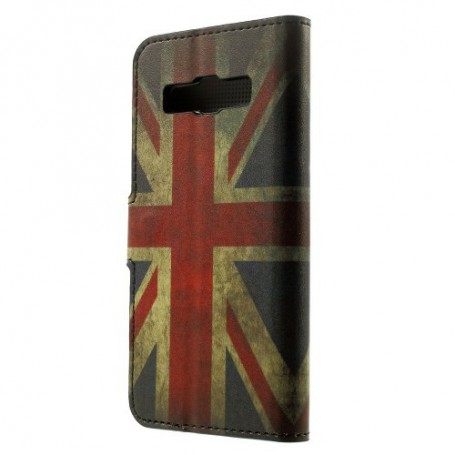 Galaxy A3 Iso-Britannian lippu puhelinlompakko