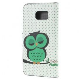 Galaxy S6 vihreä pöllö puhelinlompakko