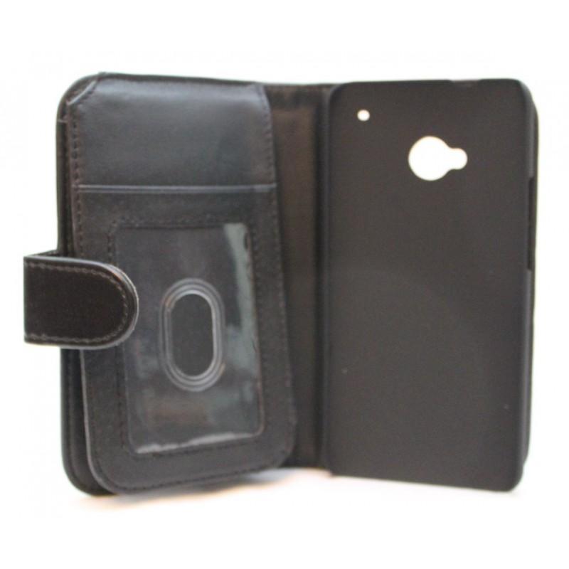 HTC One musta lompakkokotelo