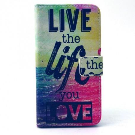 Galaxy S6 live life puhelinlompakko