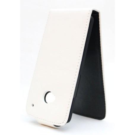 HTC One valkoinen läppäkotelo.