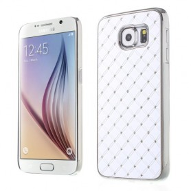 Galaxy S6 valkoiset luksus kuoret