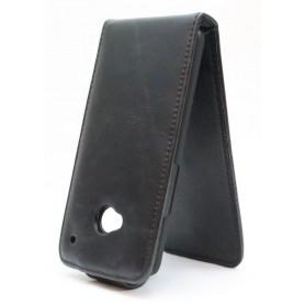 HTC One musta läppäkotelo.