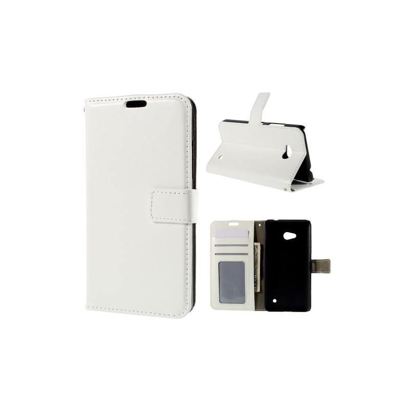 Lumia 640 valkoinen puhelinlompakko