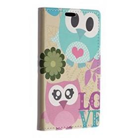 Lumia 640 pöllöpariskunta puhelinlompakko