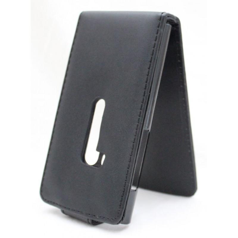 Nokia N9 musta läppäkotelo.