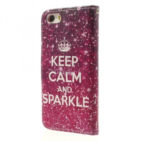iPhone 5 keep calm puhelinlompakko
