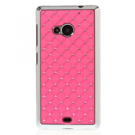 Lumia 535 pinkit luksus kuoret