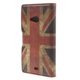 Lumia 535 Iso-Britannian lippu puhelinlompakko