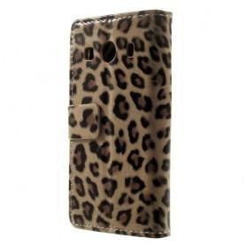 Galaxy ace 4 leopardi puhelinlompakko