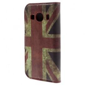 Galaxy ace 4 Iso-Britannian lippu puhelinlompakko