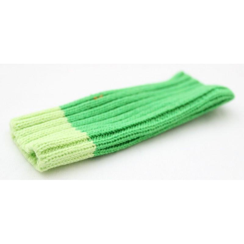 Vihreä kännykän suojapussukka.