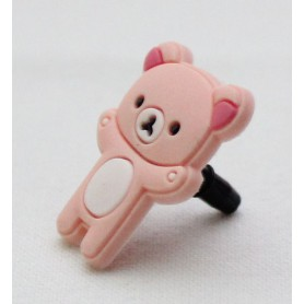 Koriste kännykkään - vaaleanpunainen nalle.