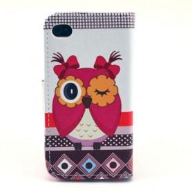 Iphone 4 pöllö puhelinlompakko