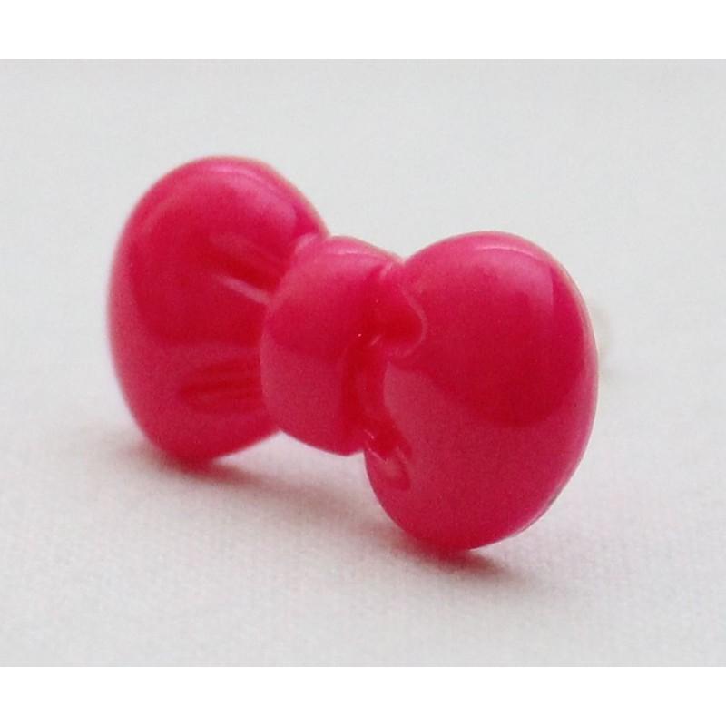 Koriste kännykkään - hot pink rusetti.