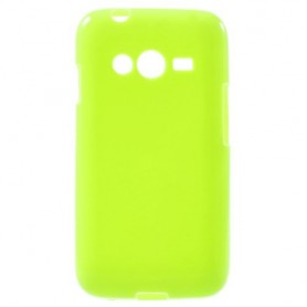 Samsung Galaxy Trend 2 vihreä silikonisuojus.