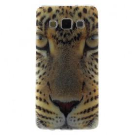 Galaxy A3 leopardi silikonisuojus.