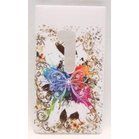 Lumia 900 suojakuori värikäs perhonen