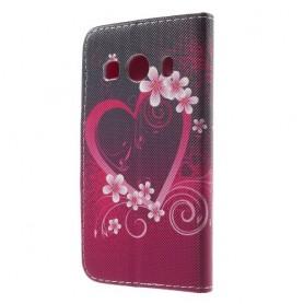 Galaxy ace 4 sydän puhelinlompakko