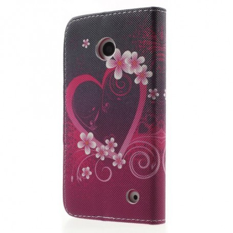 Lumia 630 sydän puhelinlompakko