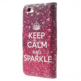 iPhone 5c keep calm puhelinlompakko