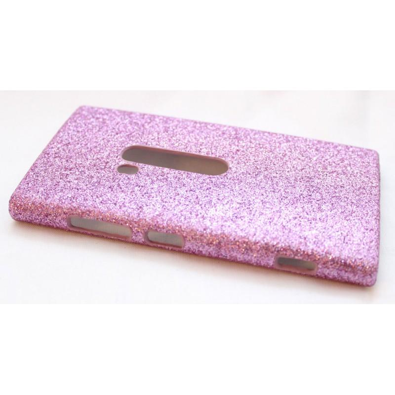Lumia 920 pinkki glitter suojakuori.