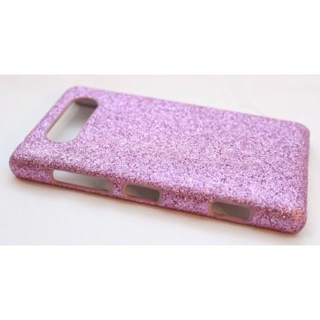 Lumia 820 pinkki glitter suojakuori.