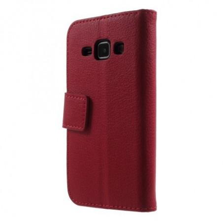 Galaxy J1 punainen puhelinlompakko