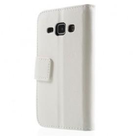 Galaxy J1 valkoinen puhelinlompakko