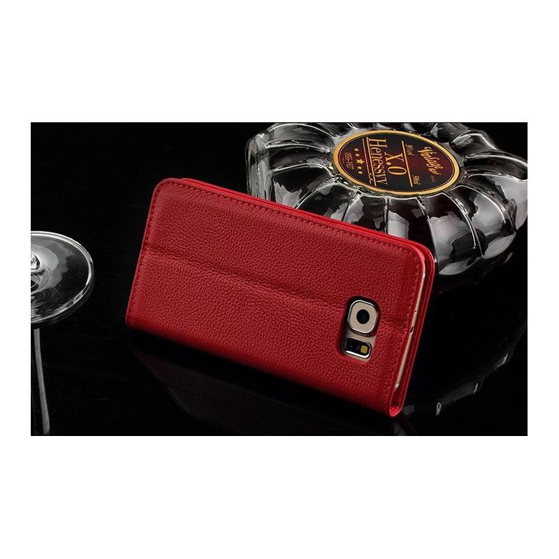 Galaxy S6 edge punainen puhelinlompakko