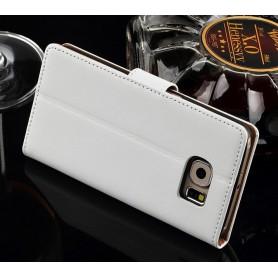 Galaxy S6 valkoinen puhelinlompakko