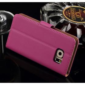 Galaxy S6 hot pink puhelinlompakko