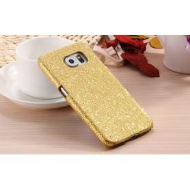 Galaxy S6 kulta glitter suojakuori.