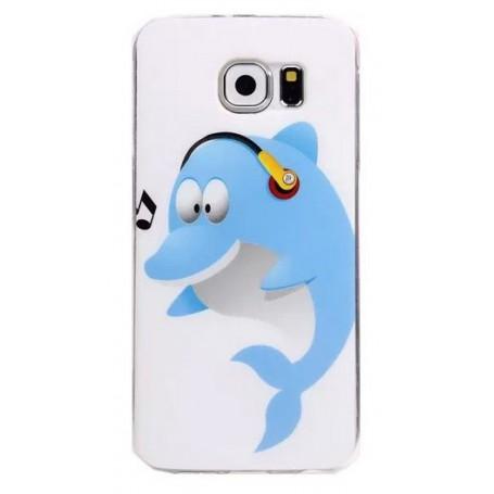 Galaxy S6 delfiini silikonisuojus.