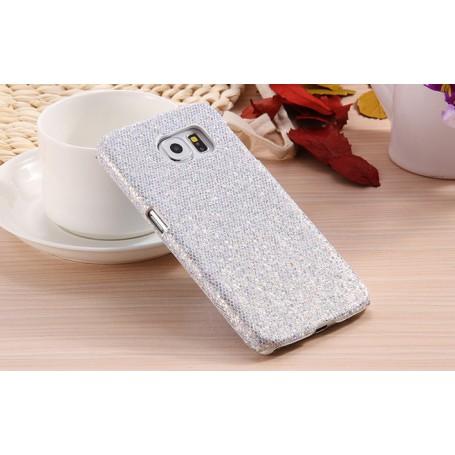 Galaxy S6 hopea glitter suojakuori.