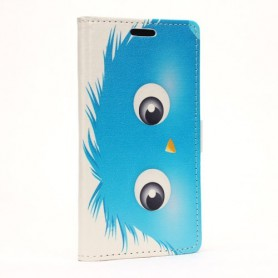 Galaxy Xcover 3 sininen otus puhelinlompakko