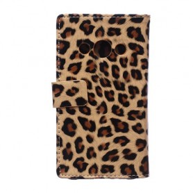 Galaxy Xcover 3 leopardi puhelinlompakko