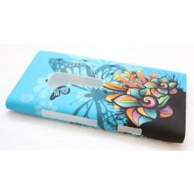 Lumia 900 suojakuori sininen perhonen