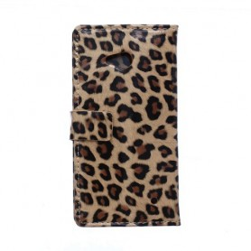 Lumia 640 leopardi puhelinlompakko