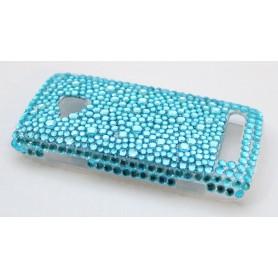 Lumia 710 bling suojakuori sininen.