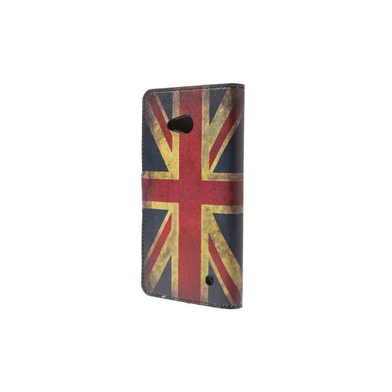 Lumia 640 Iso-Britannian lippu puhelinlompakko
