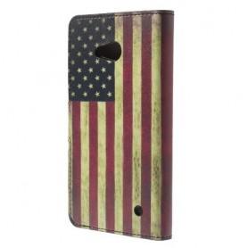 Lumia 640 Yhdysvaltojen lippu puhelinlompakko